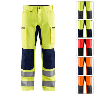 HOB-BLA-1585-1811 High Vis Stretch-Bundhose BLAKLÄDER 1585