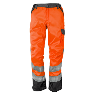 "HOB-HV-trast ORANGE HV-Bundhose ""HV-trast"" Orange/Grau"